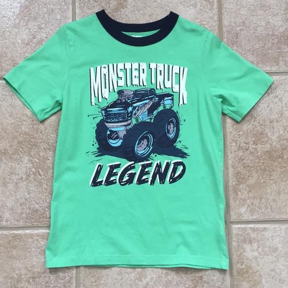 OshKosh B'gosh Other - OshKosh B'gosh Boys Monster Truck Tee Shirt